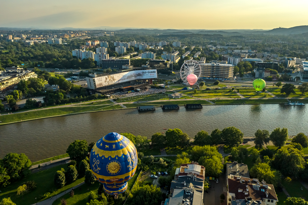 Kraków fot. Mościcki Klub Balonowy