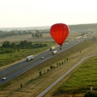 _7. Na autostradzie można nawet w przeciwnym kierunku – przy salwie klaksonów ciężarówek fot. Ewa Daszewska